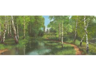 Фреска Березовая роща, арт. 6236