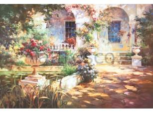 Фреска Утренний дворик, арт. 6452