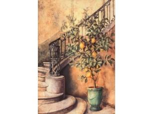 Фреска Ваза с лимоном, арт. 6448