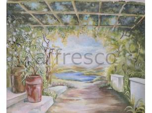 Фреска Вид на долину, арт. 6111