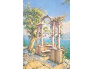 Фреска Арочные колонны, арт. 4791