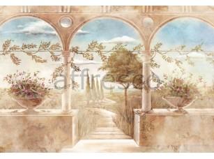Фреска Арочный балкон, арт. 6201