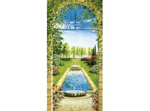 Фреска Арка с видом на сад, арт. 6359