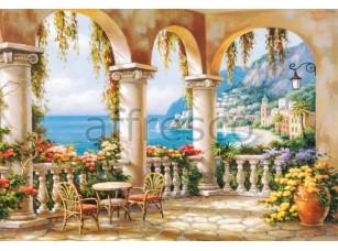 Фреска Беседка у моря, арт. 6369