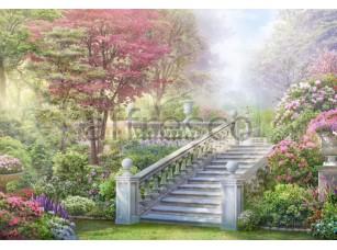 Фреска Лестница в парке, арт. 6562
