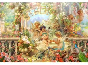 Фреска Ангелы в саду, арт. 6312