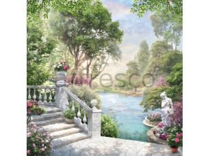 Фреска Цветочный сад, арт. 6533