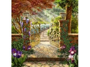 Фреска Ажурные ворота, арт. 6498