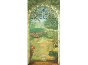 Фреска Арка в сад, арт. 6390