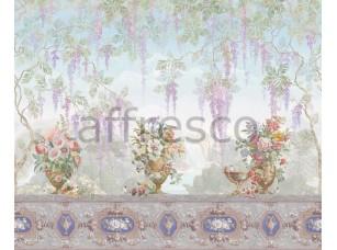 Фреска Букеты на балконе, арт. ID135715