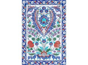 Фреска Восточный цветочный орнамент, арт. ID135660