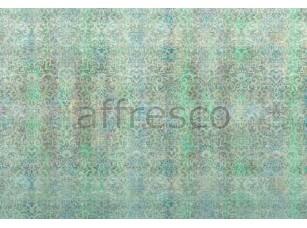 Фреска Бирюзовый орнамент, арт. ID135602