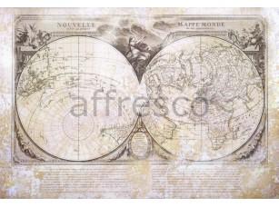 Фреска Старинные полушария, арт. 0020