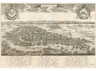 Фреска Древняя карта, арт. 0065