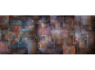 Фреска Арт стена с заклепками, арт. ID135590