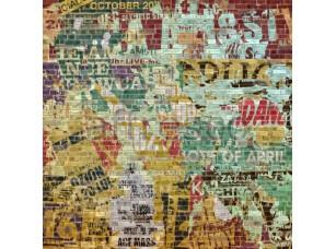 Фреска Граффити кирпичная стена, арт. ID135645