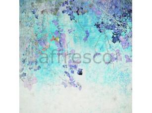 Фреска Ветки с цветами современный коллаж, арт. ID135650
