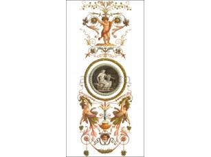 Фреска Вертикальный фриз с фигурами | арт. ID135558