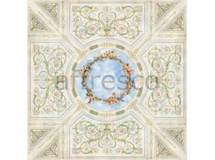 Фреска Сюжеты для потолков, небо орнаменты ангелы | арт. 9023