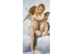 Фреска Романтика, поцелуй ангелочка | арт. 3441