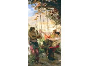 Фреска Классические сюжеты, игра на кифаре | арт. 3168