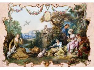 Фреска Классические сюжеты, отдых | арт. 3390