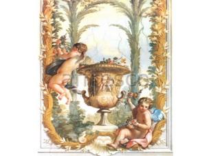Фреска Классические сюжеты, ваза ангелы | арт. 3199