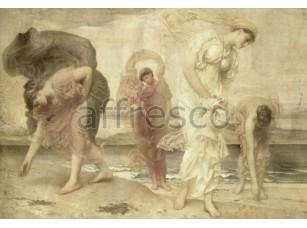 Фреска Классические сюжеты, женщины на пляже | арт. 3083