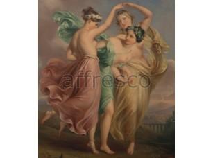 Фреска Классические сюжеты, женские игры | арт. 3356