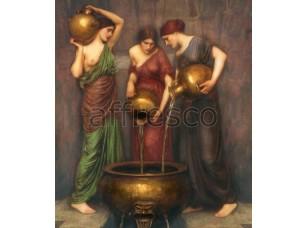 Фреска Классические сюжеты, женщины с кувшинами | арт. 3067