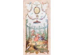 Фреска Классические сюжеты, отдых в беседке | арт. 3396