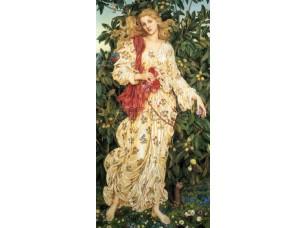 Фреска Классические сюжеты, женщина на природе | арт. 3315