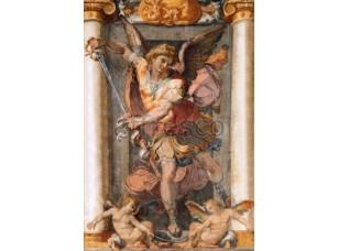 Фреска Классические сюжеты, ангел с копьем | арт. 3059