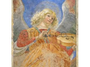 Фреска Классические сюжеты, ангелы со скрипкой | арт. 3203