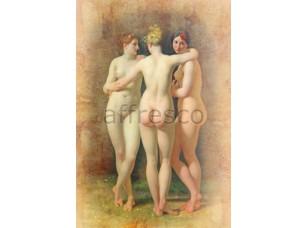 Фреска Классические сюжеты, обнаженная женщина | арт. 3321