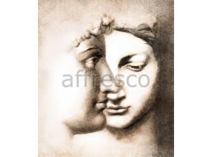 Фреска Классические сюжеты, античные лица | арт. 7158
