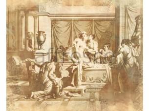 Фреска Классические сюжеты, обнаженные во дворце | арт. 3271