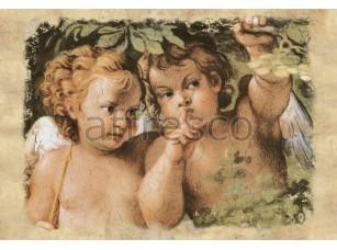 Фреска Классические сюжеты, ангелы | арт. 3198