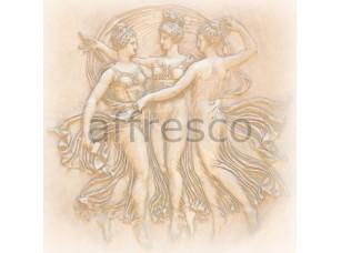 Фреска Классические сюжеты, барельеф обнаженные | арт. 3317