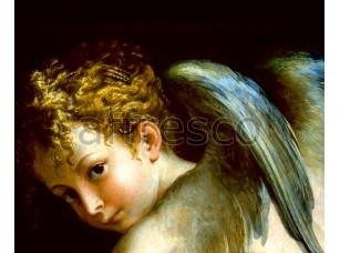 Фреска Классические сюжеты, голова ангела | арт. 3069