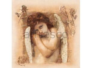 Фреска Классические сюжеты, девушка ангел | арт. 3283