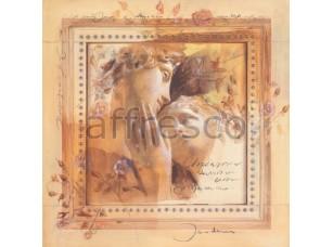 Фреска Классические сюжеты, влюбленные | арт. 7160