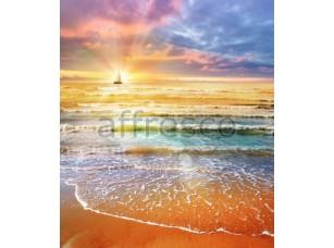 Фреска Парусник на рассвете, арт. ID11240