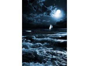 Фреска Парусник в ночи, арт. ID11206