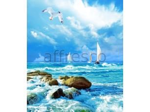 Фреска Парусники в море, арт. ID11116