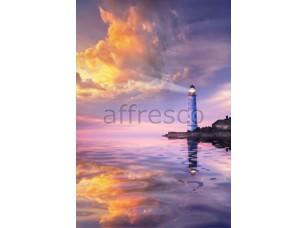 Фреска Вечерний маяк, арт. ID11167
