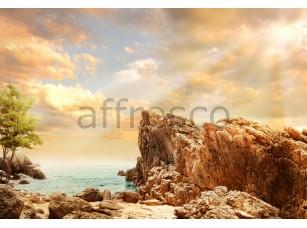 Фреска Скалы у моря, арт. ID11170