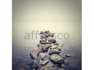 Фреска Каменная дорожка в море, арт. ID13142
