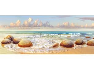Фреска Волна камни, арт. ID11198