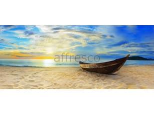 Фреска Баркас на пляже, арт. ID11143